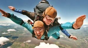Audace - Saut en Parachute